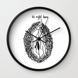 it's right here Wall Clock
