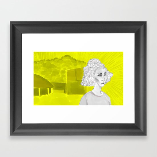 """Digital Witness"" - Virginia McCarthy Framed Art Print"