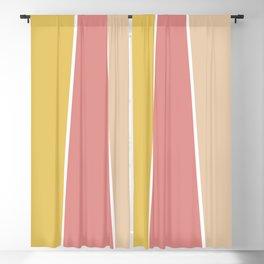 Sunday Morning Color Block Blackout Curtain