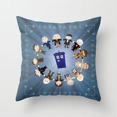 Doctors United Throw Pillow