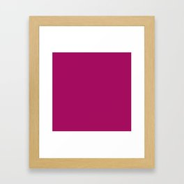 Jazzberry Jam Framed Art Print
