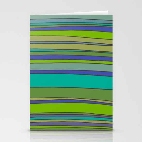 Stripes No. 2 Stationery Cards