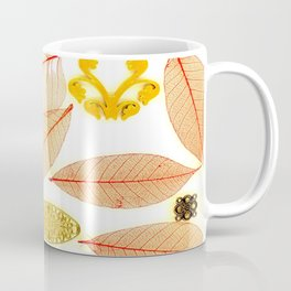 SHEER LEAVES & FILIGREE Coffee Mug