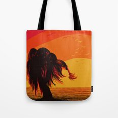 The Face in the Willow Tote Bag