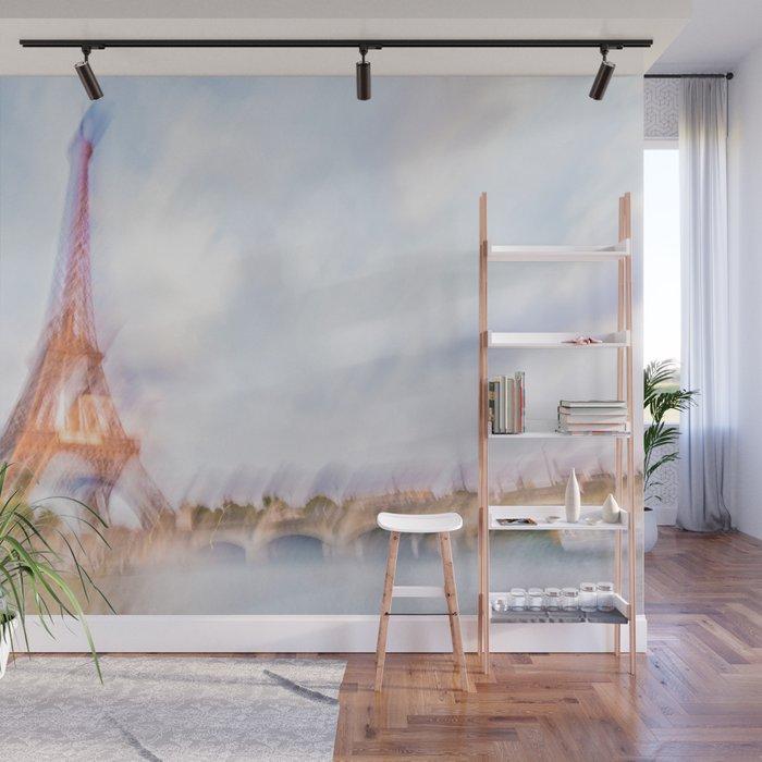 The Eiffel Tower 3 Wall Mural