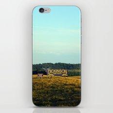 hill top iPhone & iPod Skin