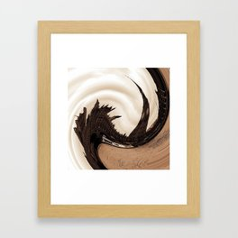 Government in a spin Framed Art Print