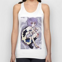 cosmos Tank Tops featuring Cosmos by YURIA