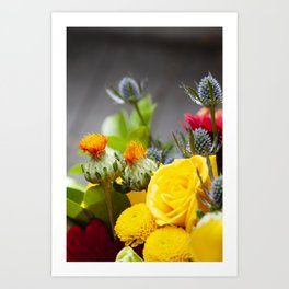 Floral III  /  The Fresh Flower Collection Art Print