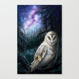 Tyto Alba Canvas Print