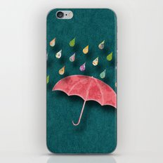 It's raining, it's pouring iPhone & iPod Skin