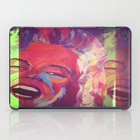monroe iPad Cases featuring Monroe by AB Art