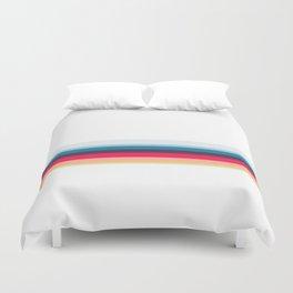 Simply Striped (white) Duvet Cover