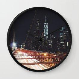 New York 02 Wall Clock