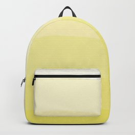 Six shades of yellow. Backpack