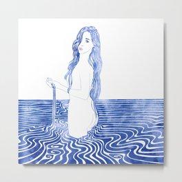 Water Nymph LXIII Metal Print