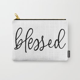 BLESSED by Dear Lily Mae Carry-All Pouch
