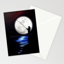 Rock Angler Stationery Cards