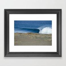 Empty Runner, Baja Framed Art Print