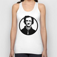 edgar allen poe Tank Tops featuring Poe by Zombie Rust