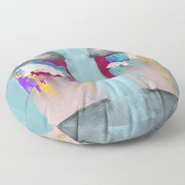 2 Spray Paint Can Drips - 651. Floor Pillow