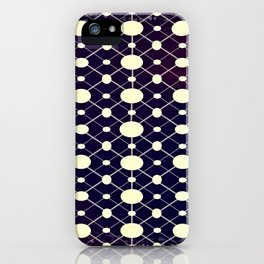 GS Geometric Abstrac 05A Dots CW iPhone Case