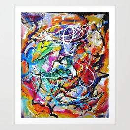 Joy of Living Art Print