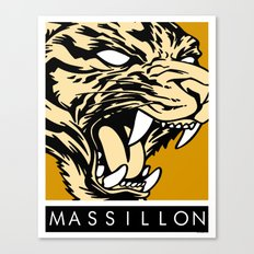 MASSILLON TIGER Canvas Print