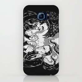 Poe vs. Lovecraft iPhone Case