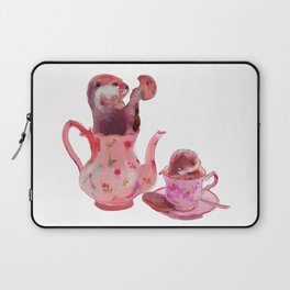 Otter Tea and Biscuits Laptop Sleeve