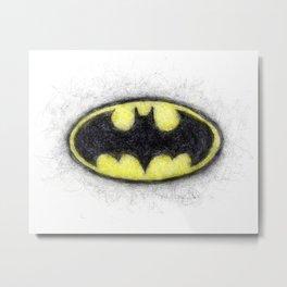Bat Symbol Metal Print