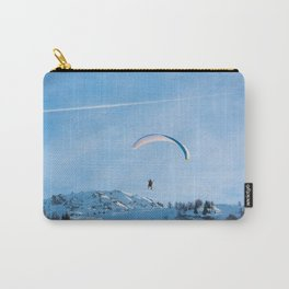 Paragliding, Alps, Arcs 1800 Carry-All Pouch