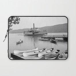 The Sagamore Lands at Roger's Slide Boathouse Laptop Sleeve