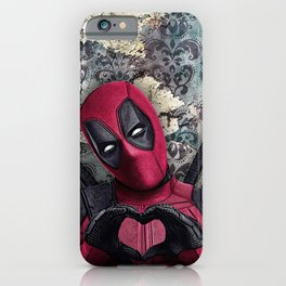 Dead pool - Sweet superhero iPhone Case