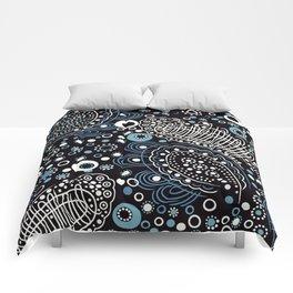 random circles #2 Comforters