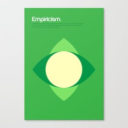 Empiricism Canvas Print