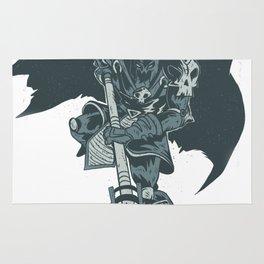 Nightmare Demonic Knight Rug