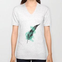 Feather Unisex V-Neck