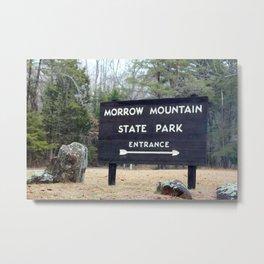 Explore Morrow Mountain Metal Print