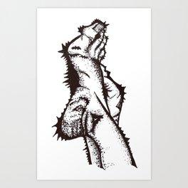 Foot Meat Art Print