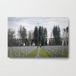 Meuse-Argonne American Cemetery - II Metal Print