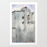 Building No. 3 Art Print