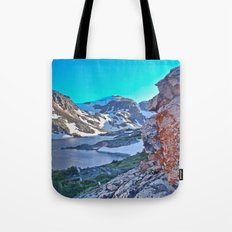 Froze To Death Lake Tote Bag