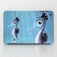 seahorse iPad Cases featuring Seahorse by Heidy Curbelo