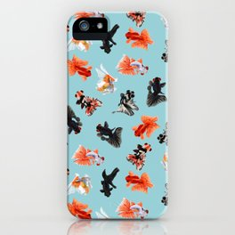 Goldfish Bowl iPhone Case