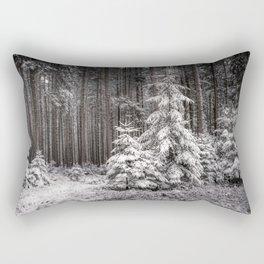 sheltered childhood Rectangular Pillow