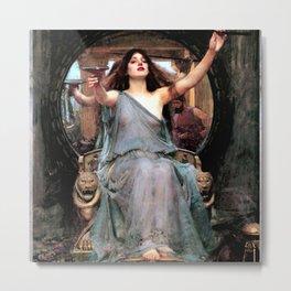 "John William Waterhouse ""Circe Offering the Cup to Odysseus"" Metal Print"