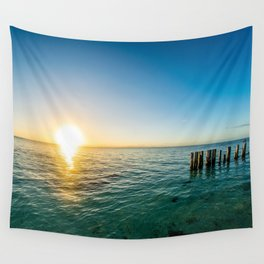 Belize Sunset Wall Tapestry