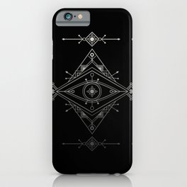 Wild Eye - Darkness iPhone Case