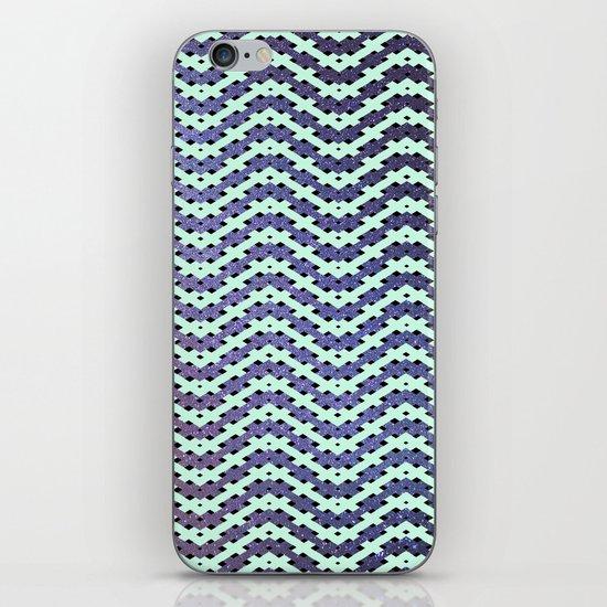 Chevron With A Twist iPhone & iPod Skin